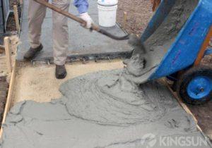 Sodium Gluconate in Concrete
